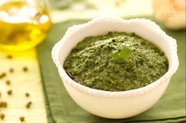 La salsa verde o Bagnet Verd