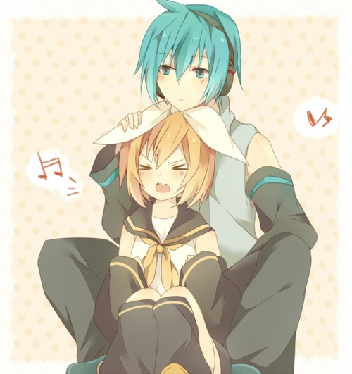 Rin and Mikuo