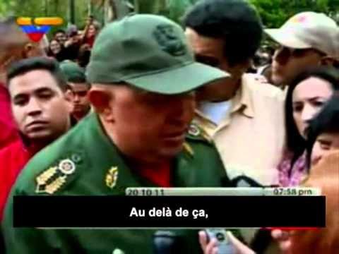 Chavez réagit à la mort de Kadhafi !