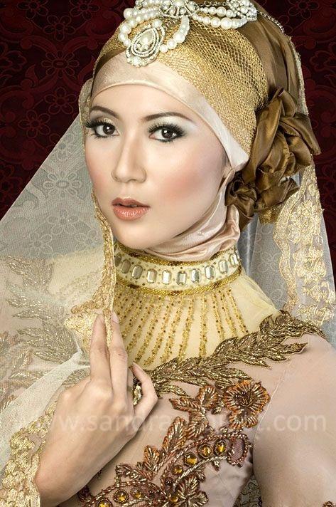 riasan pengantin berjilbab