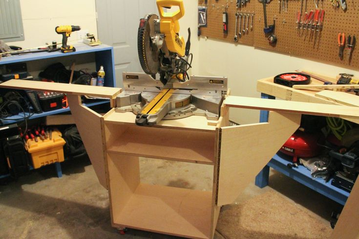 Miter Saw Station (How To Build)