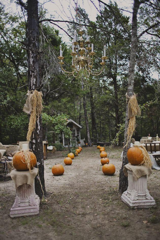 10 Pumpkin Wedding Decor Ideas - Upcycled Treasures