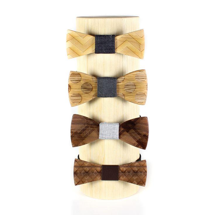 Wood Bow Tie