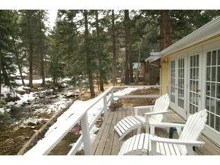 River Front Cottage Near Estes Park Colorado