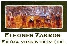 Extra Virgin Olive Oil from Eleones Zakros, Crete