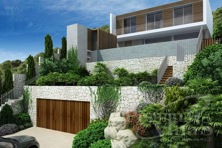 C1912 - Under constructruction: Modern villa in Altea Hills with great views to the sea! 1