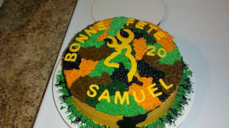 gâteau de chasse