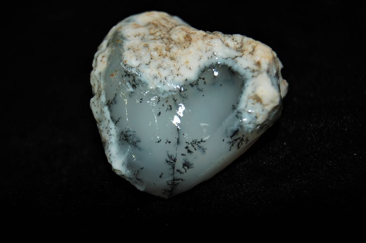 70 Gr Dendritic Agate Rare Special Piece Natural Rough