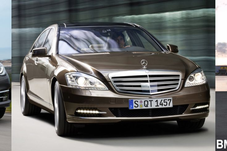 Photo Comparison: BMW 7 Series LCI vs. Mercedes-Benz S-Class vs. Audi A8