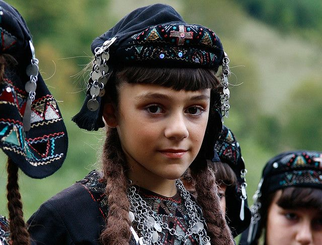 Young faces of the world - girl from Caucasus, Georgia.