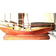 Beautiful sailing Ship. A feature decorative piece in a beachy styled home.