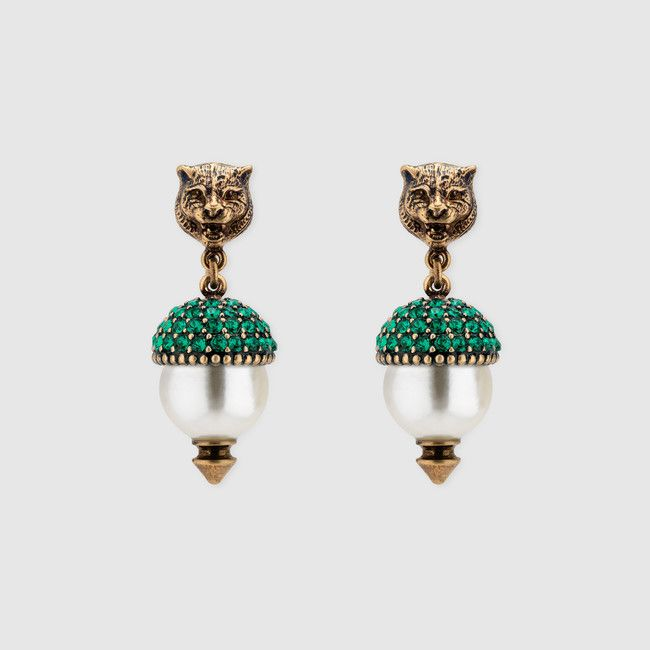 Faceted Crystal Earrings Gucci DdJVHm