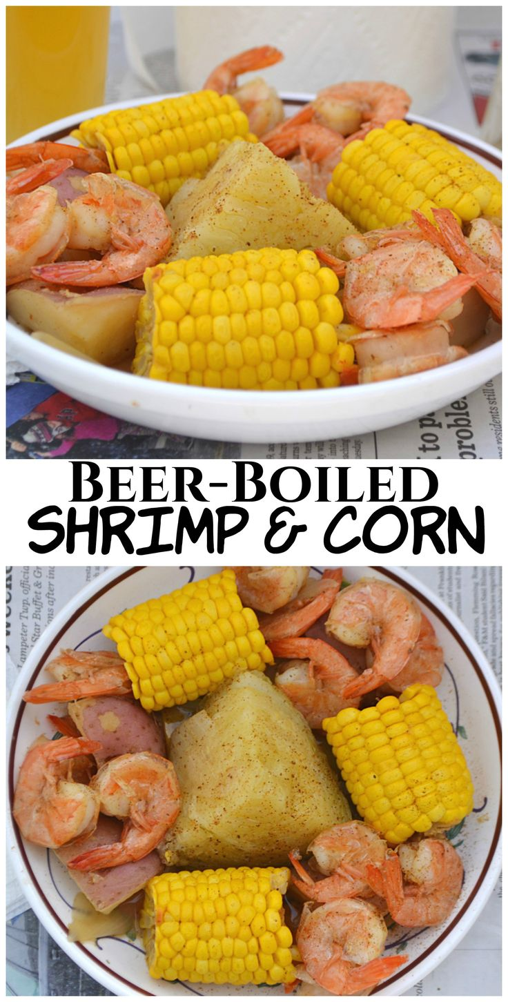 Nothing says sunny day eats than Southern Style Beer-Boiled Shrimp & Corn. This one pot meal comes together quickly & effortlessly | www.craftycookingmama.com | #SunshineSweetCorn #IC #ad @freshsweetcorn