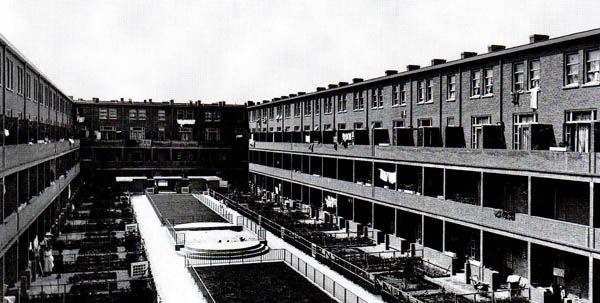J.J.P.Oud - colony spangen - Rotterdam 1919