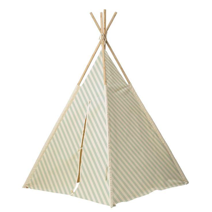 Tenda teepee degli Indiani Azzurra - RocketBaby