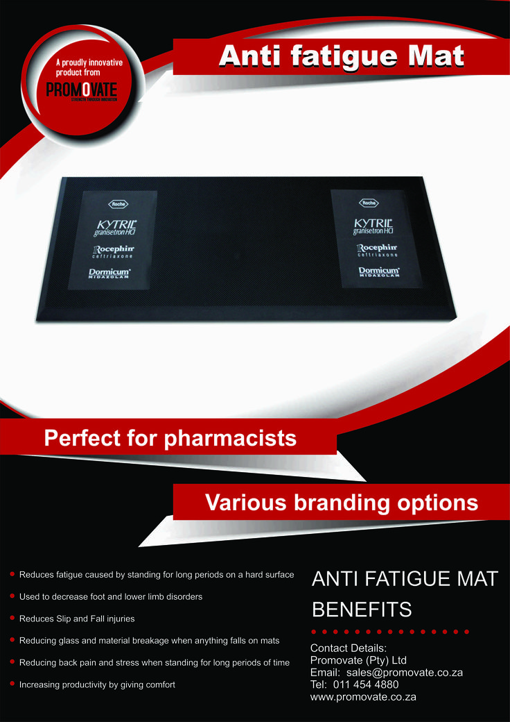 Anti fatigue mat - Ideal for pharmaceutical campaigns!