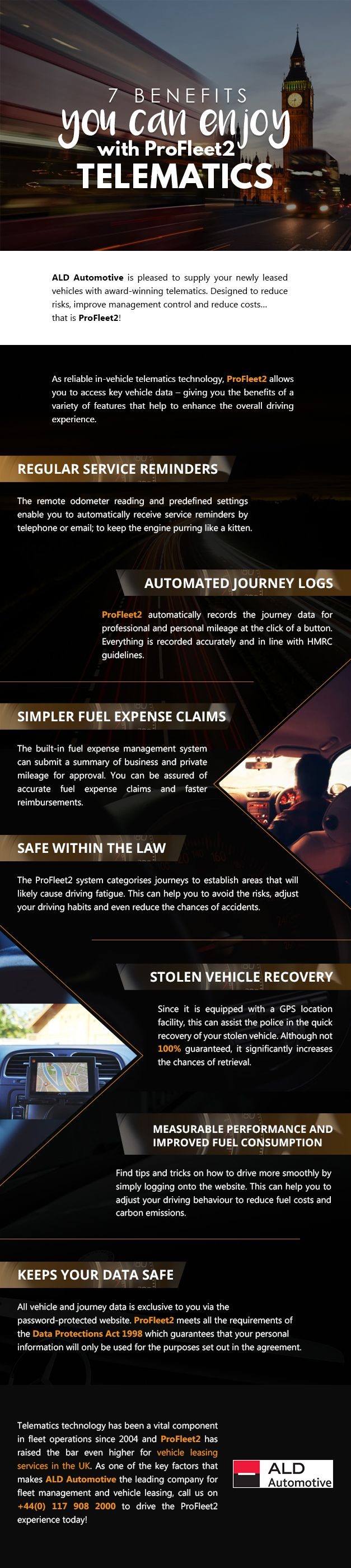 7 Benefits you can Enjoy with ProFleet2 Telematics