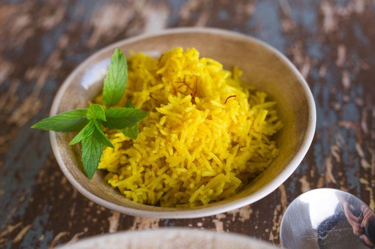 Saffron Turmeric Rice - Cooking with Tenina