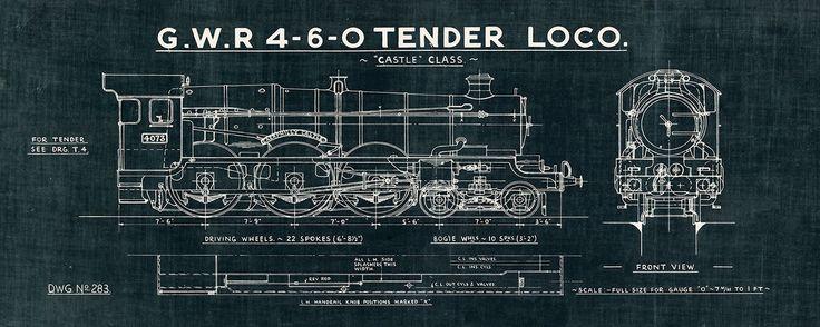 Masterpiece Art - Train Blueprint III Black, $44.00 (http://www.masterpieceart.com.au/train-blueprint-iii-black/)