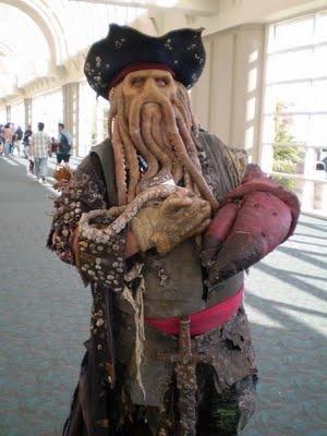 Davy Jones - Piratas del Caribe
