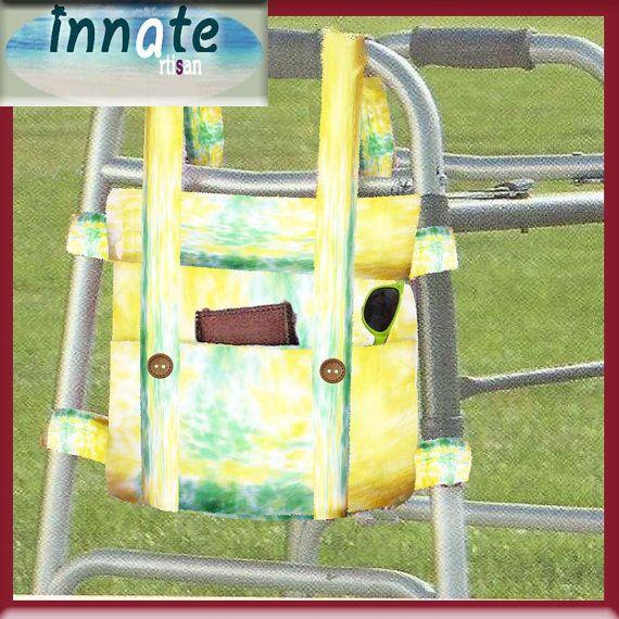 Unique LITE Tie Dye walker bag  by InnateArtisanSoap on Etsy