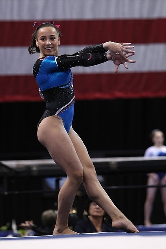 Amelia Hundley of Cincinnati Gymnastics Academy.