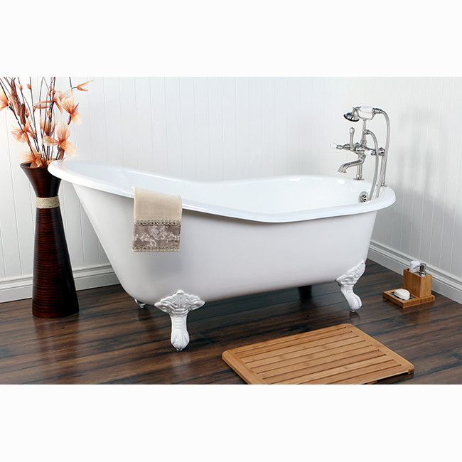 Aqua Eden Soaking Bathtub Bathtub Cast Iron Tub