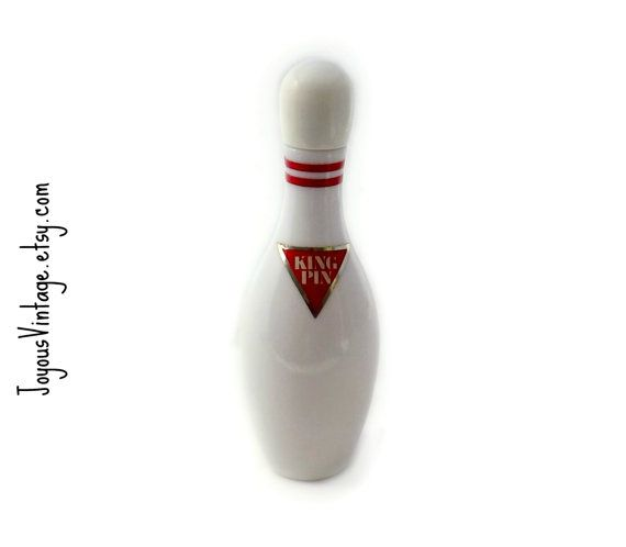 Vintage Avon King Pin After Shave Bowling Pin by JoyousVintage, $10.00