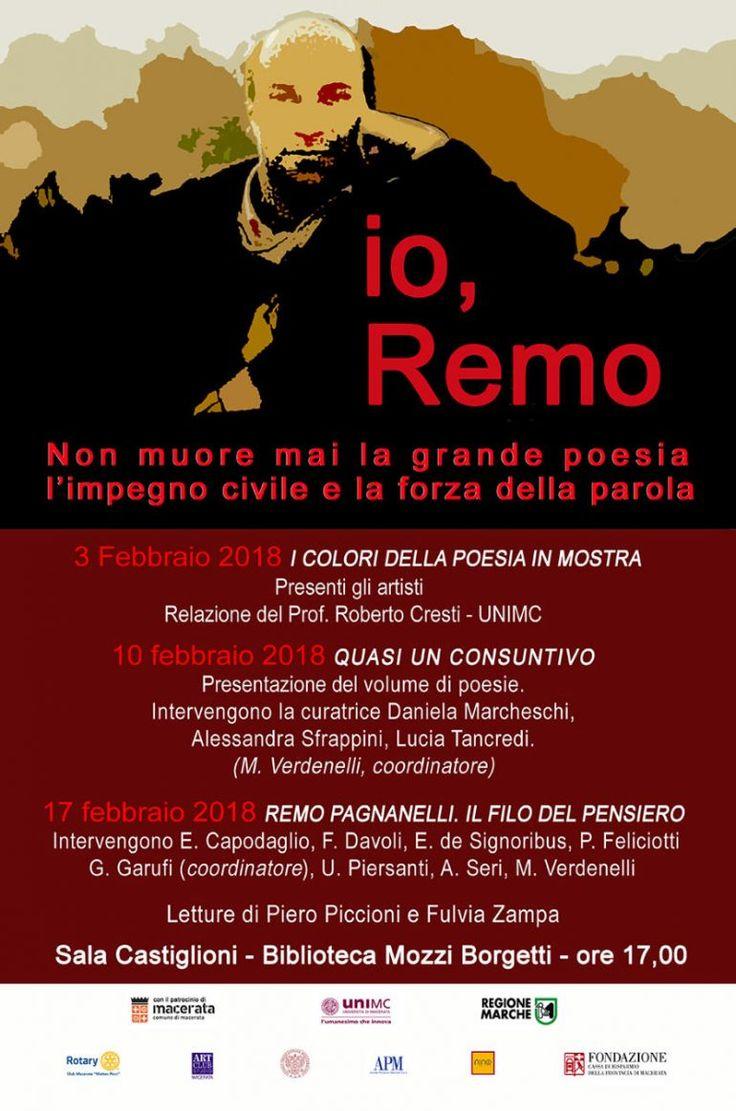 I colori della poesia – io, Remo, Biblioteca Comunale Mozzi Borgetti, Macerata