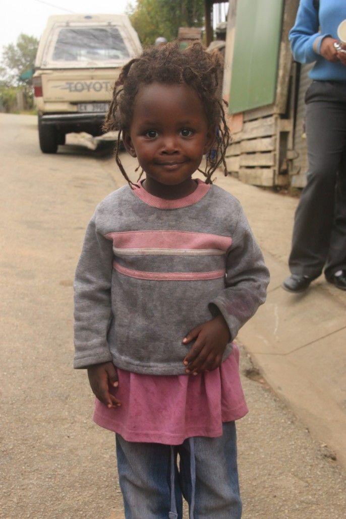 Jeune fille de la communauté rastafari - Knysna -Afrique du sud