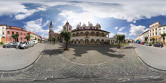 Master Paul of Levoča Square, City of Levoča, Levoča, Slovakia.