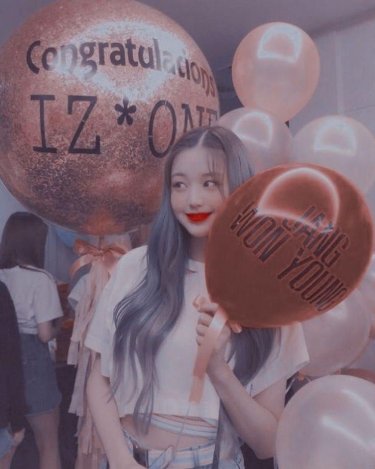 Jang Wonyoung(IZ*ONE)-Aesthetic Pinterest:Sophia di 2020