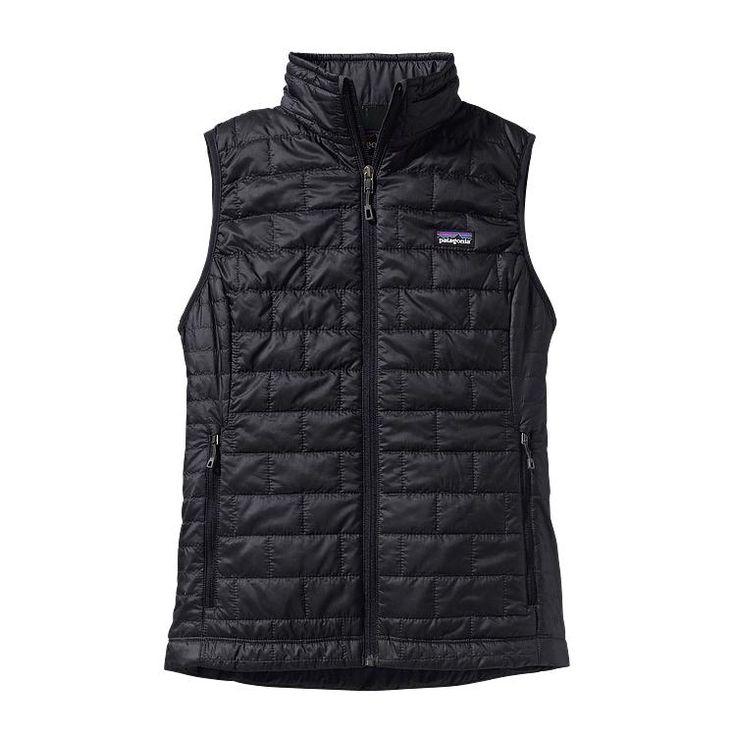 Patagonia Women\'s Nano Puff\u00AE Vest - Black BLK-155