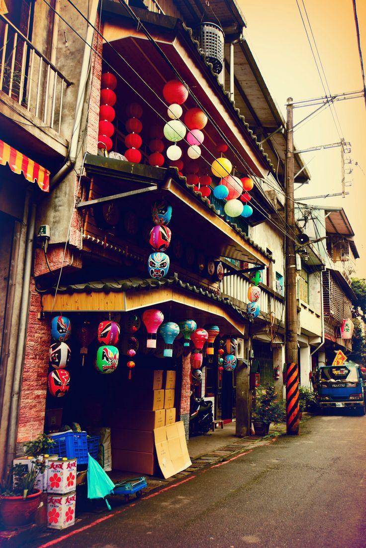 2013, #Lantern Shop #Shifen Old Town, #Taiwan