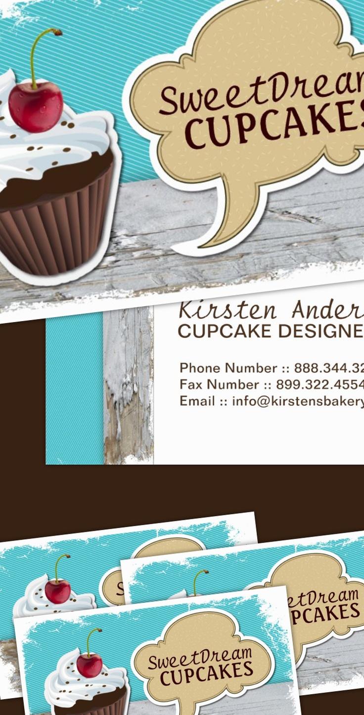 46 best customizable cupcake business cards images on pinterest customizable retro cupcake business cards magicingreecefo Images