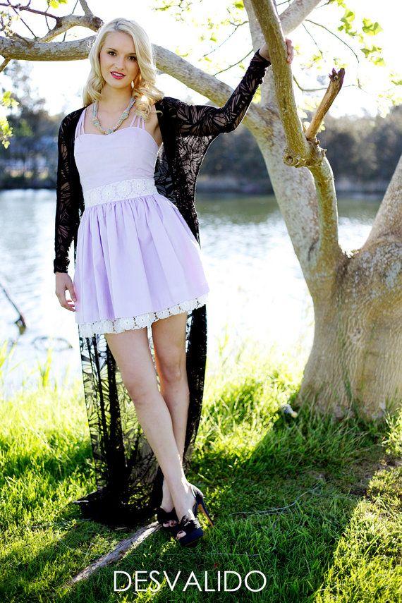 Purple Desvalido pastel dress by Desvalido on Etsy, $89.00