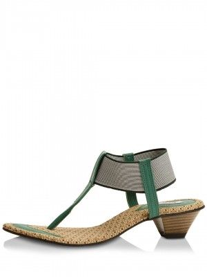 LAMERE Low Raise Sandals With Panel Detailing by koovs.com