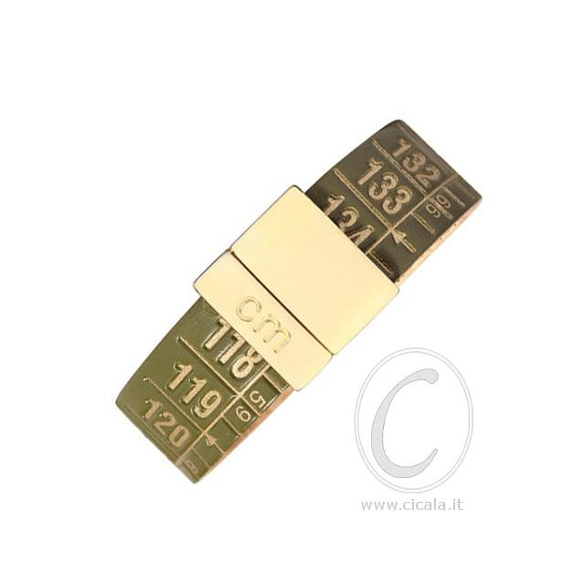 Brand: Il Centimetro. Design: centimeter bracelet - Green Gold color - in leather with magnet closure! Italian Design. €38,00 on www.cicala.it - Register for discount!