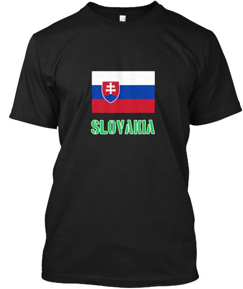 Slovakia Flag Stencil Green Design Black T-Shirt Front - This is the perfect gift for someone who loves Slovakia. Thank you for visiting my page (Related terms: I Heart Slovakia,Slovakia,Slovakian,Slovakia Travel,I Love My Country,Slovakia Flag, Slovakia Map,Sl #Slovakia, #Slovakiashirts...)