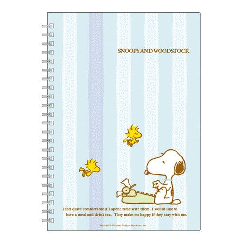 akgshop | Rakuten Global Market: Snoopy /SNOOPY B6 ring notebook (blue) ctswa 426 SQD ★ join science job readiness congratulation to ★