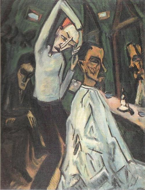 ERICH HECKEL  Barbierstube (Barbershop, 1917)                                                                                                                                                                                 Mehr
