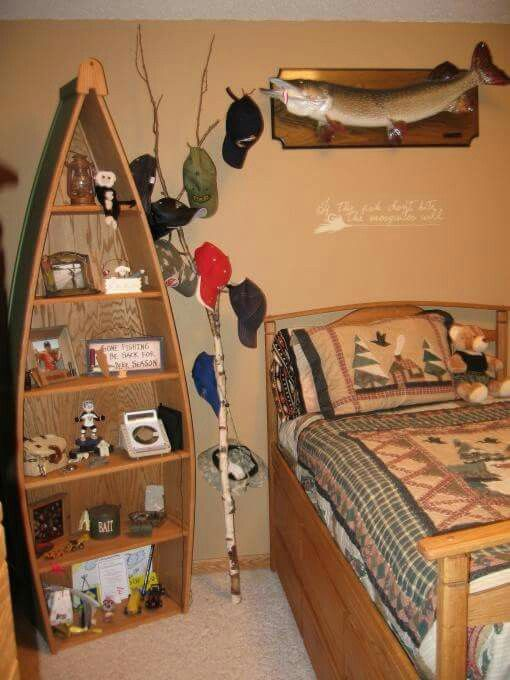 25 best ideas about boys fishing room on pinterest