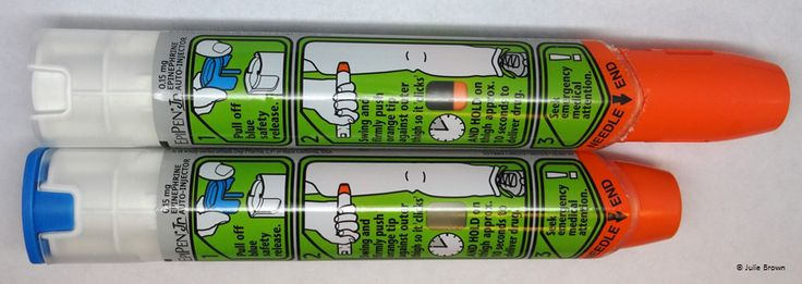 Epipen U00ae Devices Before And After Use  Note The Differences
