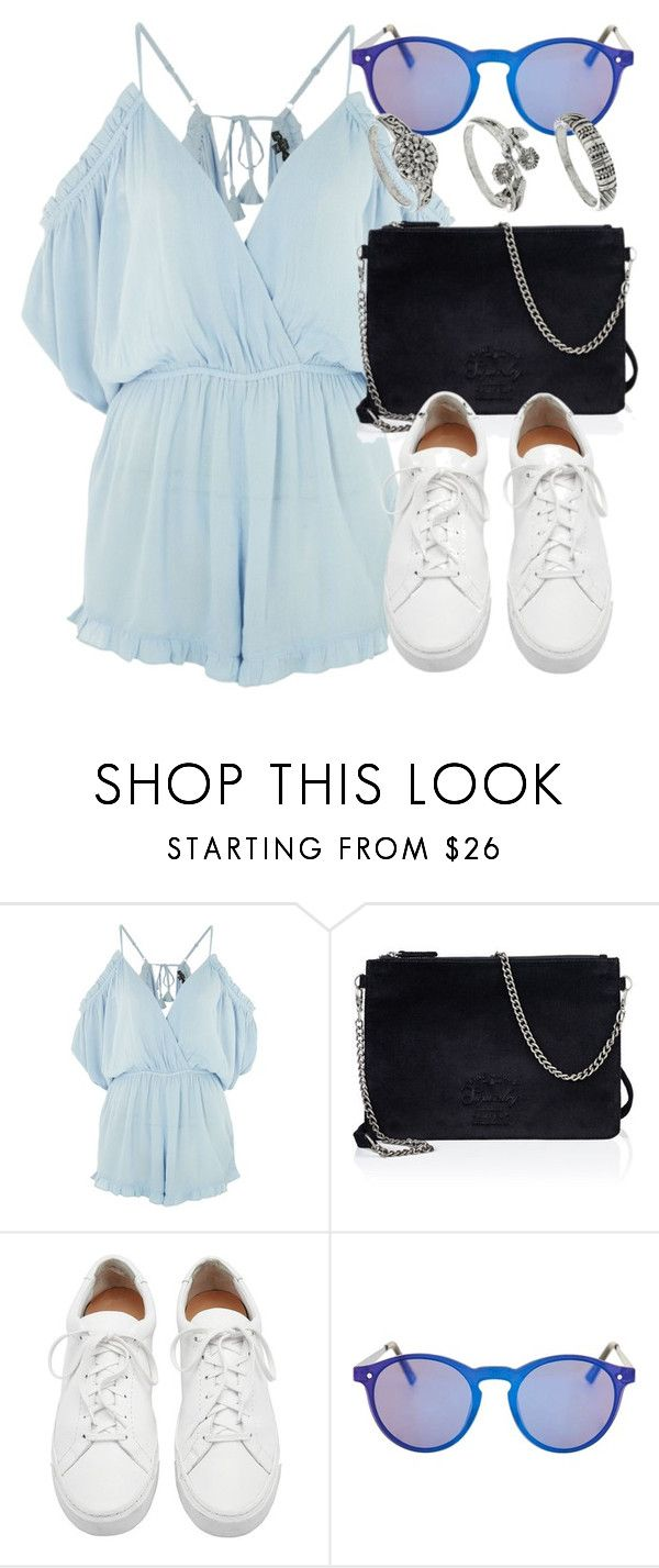 """Untitled #6695"" by laurenmboot ❤ liked on Polyvore featuring Topshop, Superdry, Loeffler Randall and Miss Selfridge"