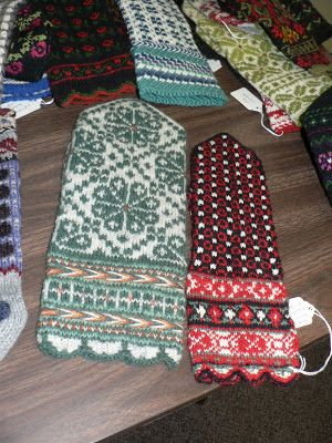 Last weekend was the three day Latvian mitten workshop. The museum brought out Sandy DeMaster and Mary Germain from Wisconsin. I met Sandy ...