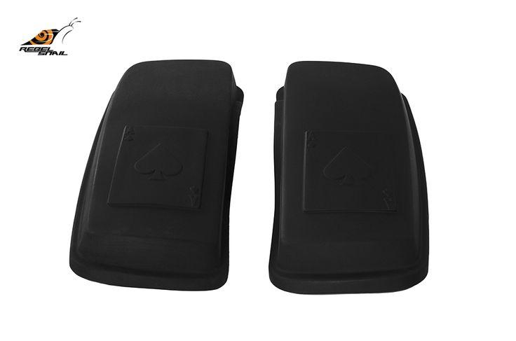 RS hard saddlebag lids ace of spades design for touring 2014 Image