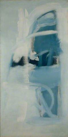 'Low Tide' by famous #StIves #painter Peter Lanyon