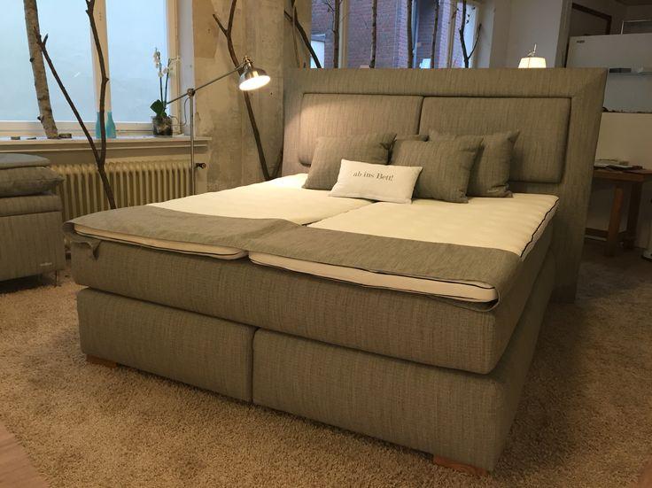 boxspringbetten probeliegen im showroom bei urbancasa. Black Bedroom Furniture Sets. Home Design Ideas