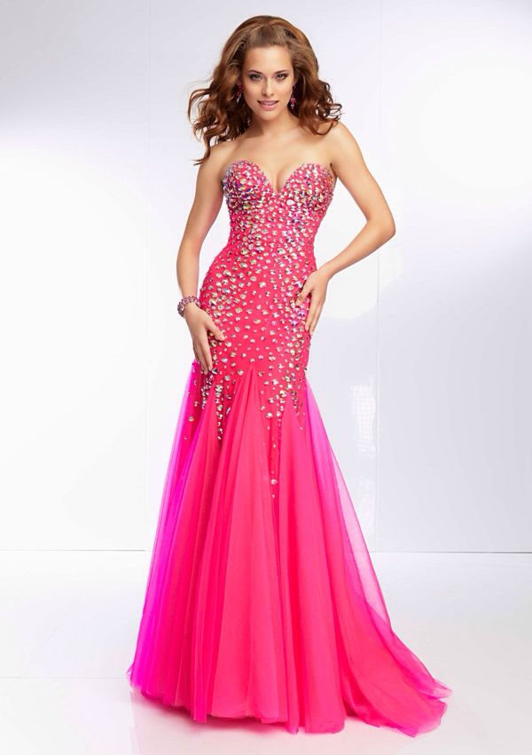 70 best images about Pink prom dresses on Pinterest