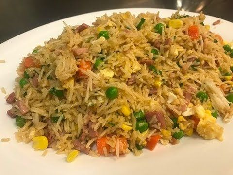 How To Make Chinese Fried Rice - YouTube